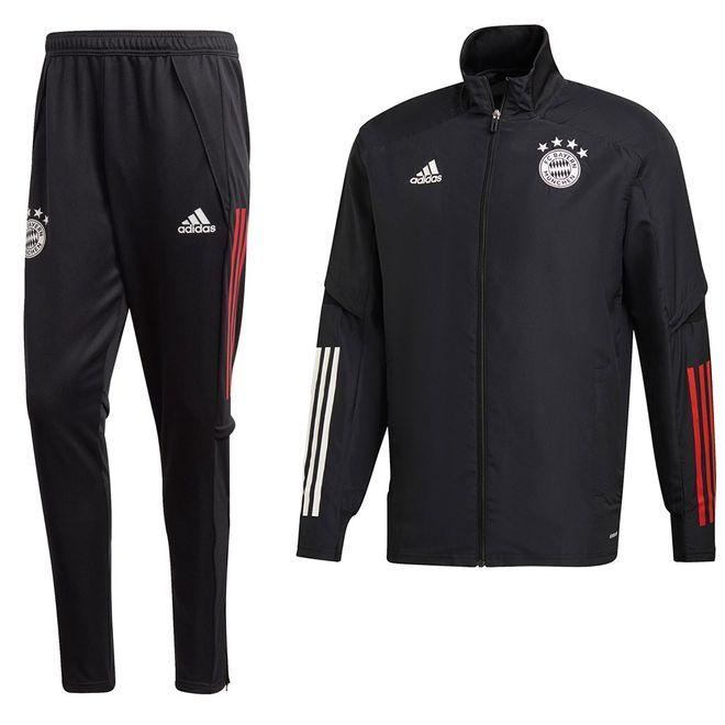 Afbeelding van FC Bayern München Presentatiepak Black