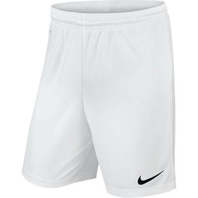 Foto van Nike Park II Knit Short Kids Wit