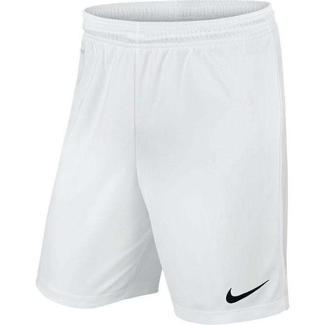 Afbeelding van Nike Park II Knit Short Kids Wit