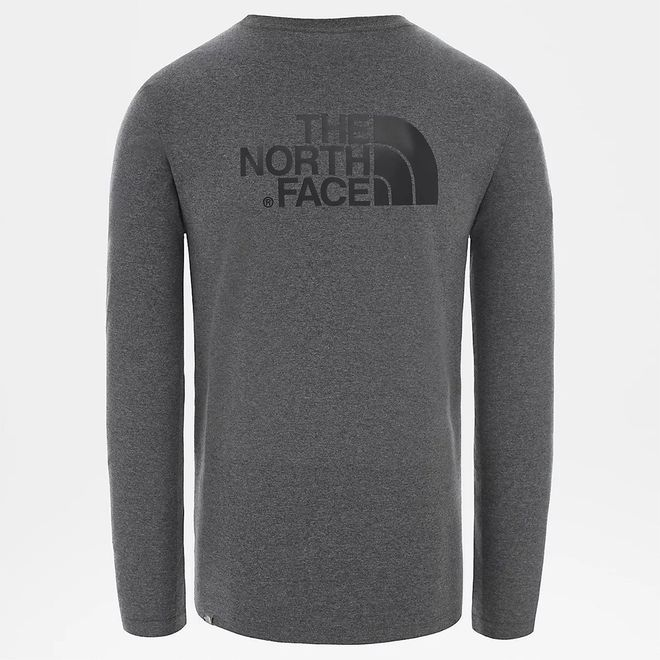 Afbeelding van The North Face Easy T-Shirt met Lange Mouwen Medium Grey Heather