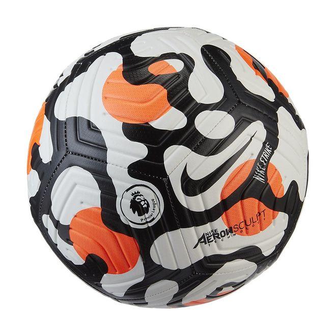 Afbeelding van Nike Premier League Strike Voetbal White Hyper Crimson