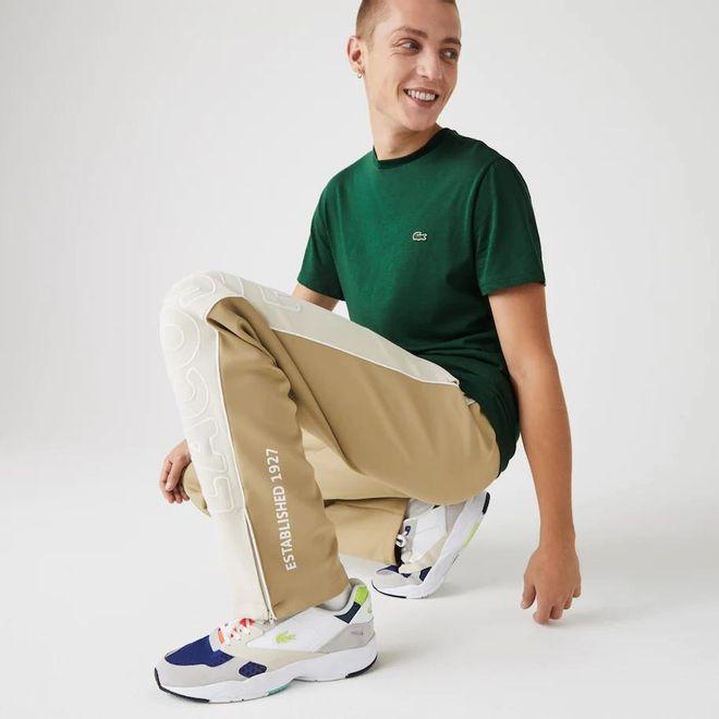 Afbeelding van Lacoste T-shirt met Ronde Hals Groen