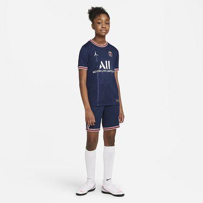 Foto van Paris Saint-Germain Stadium Home Short Kids 2021/22