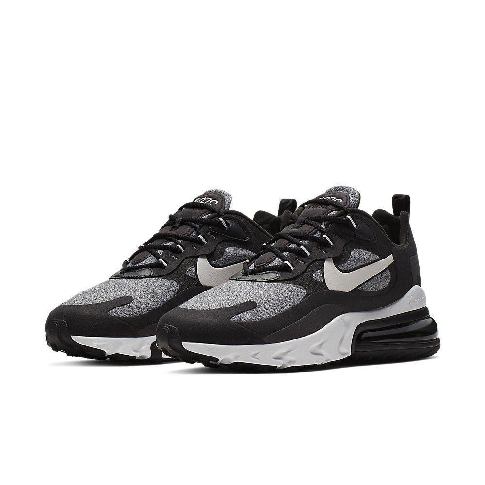 Nike Air Max 270 React Black Vast Grey