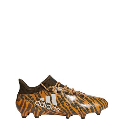Foto van Adidas X 17.1 FG Oranje-Zwart