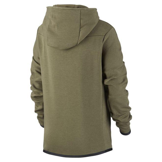 Afbeelding van Nike Sportswear Tech Fleece Hoodie Kids Cargo Khaki
