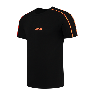 Foto van Malelions Sport Coach Set Black Neon Orange