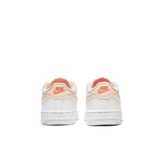Afbeelding van Nike Force 1 Kids White Crimson Tint