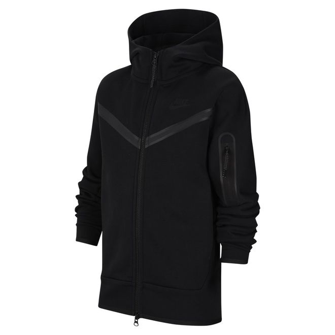 Afbeelding van Nike Sportswear Tech Fleece Hoodie Kids Black
