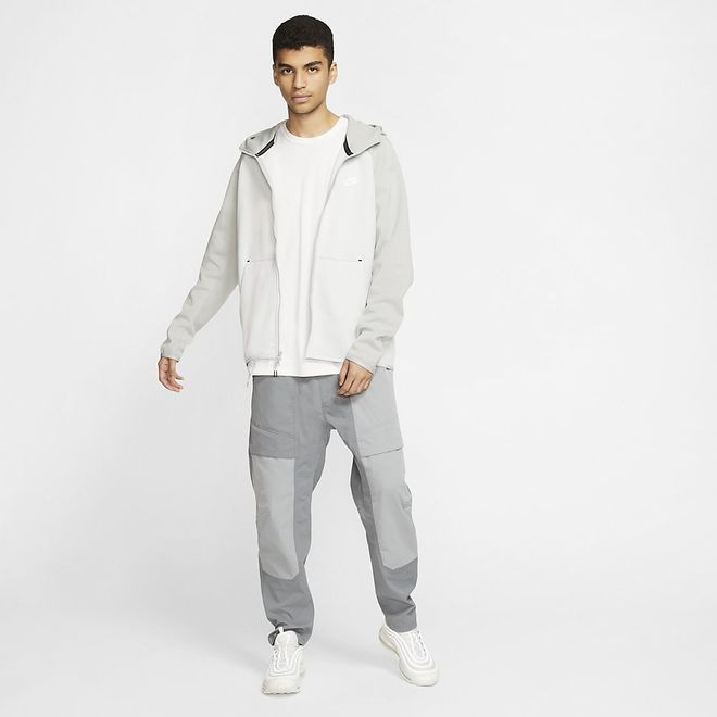 Afbeelding van Nike Sportswear Tech Fleece Hoodie Pure Platinum