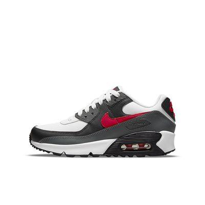 Foto van Nike Air Max 90 Kids Leather White Red