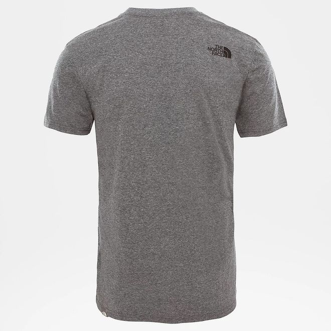 Afbeelding van The North Face Simple Dome T-Shirt Medium Grey Heather