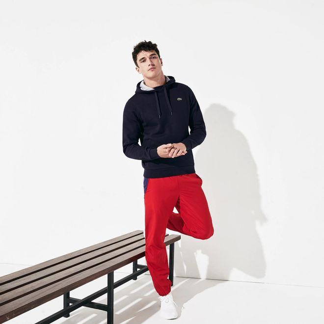 Afbeelding van Lacoste Hooded Sweater Navy