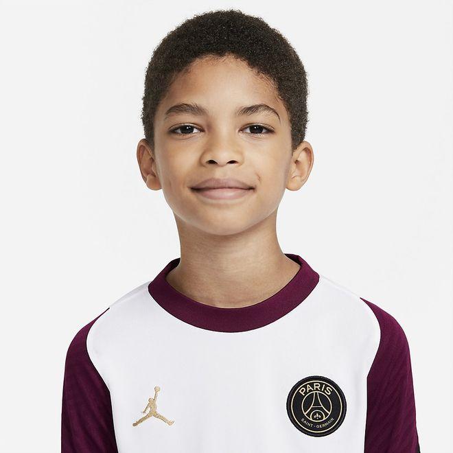 Afbeelding van PSG Strike Set Short Kids White Bordeaux