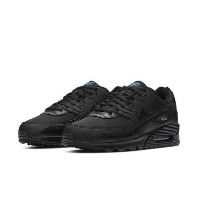 Foto van Nike Air Max 90 Black Laser Blue