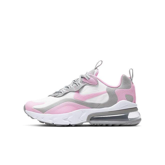 Afbeelding van Nike Air Max 270 React Kids White Pink