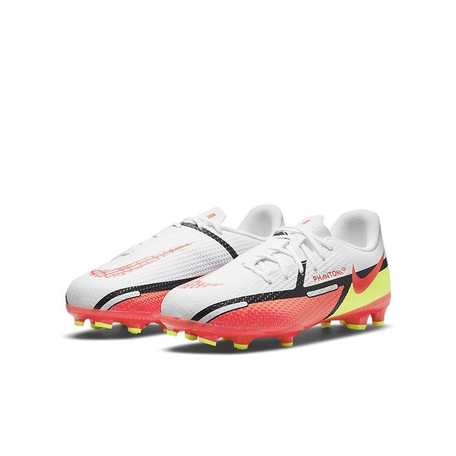 Afbeelding van Nike Phantom GT2 Academy MG Kids White Bright Crimson