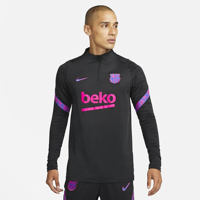 Afbeelding van FC Barcelona Dri-FIT Strike Set Black Hyper Royal