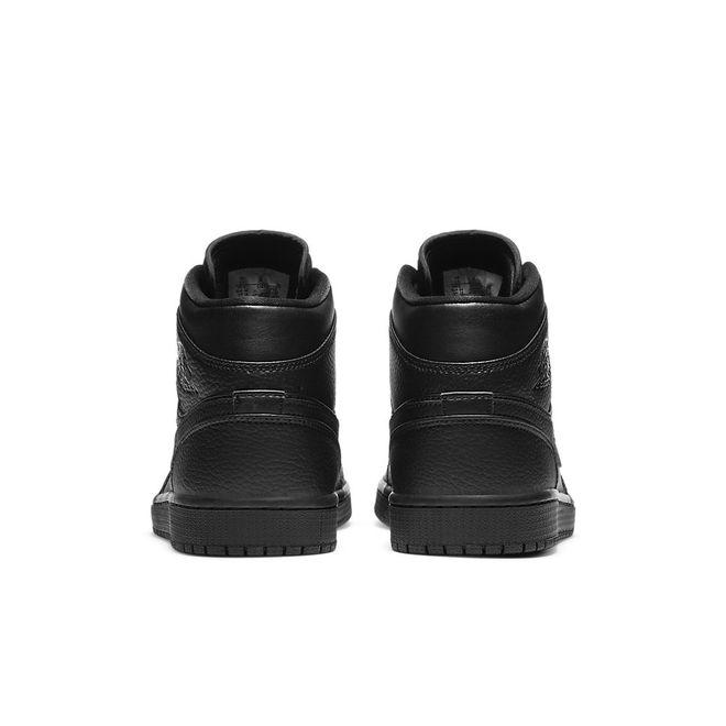 Afbeelding van Nike Air Jordan 1 Mid Triple Black