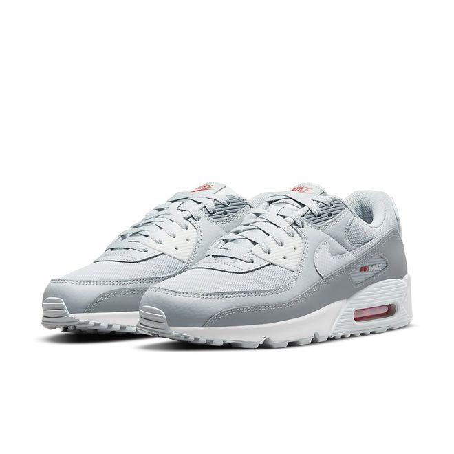 Afbeelding van Nike Air Max 90 White Light Smoke Grey