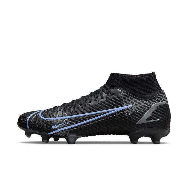 Afbeelding van Nike Mercurial Superfly 8 Academy FG Black Iron Grey