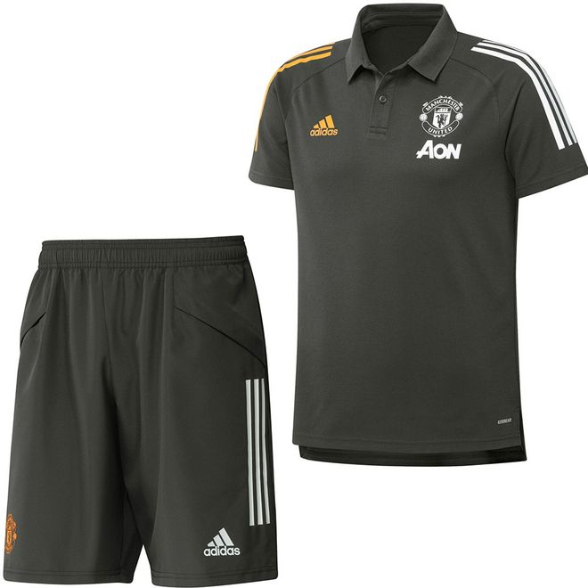 Afbeelding van Manchester United Polo Set Legend Earth
