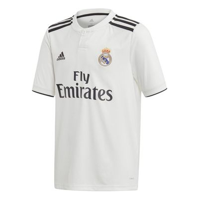 Foto van Real Madrid Thuisshirt Kids