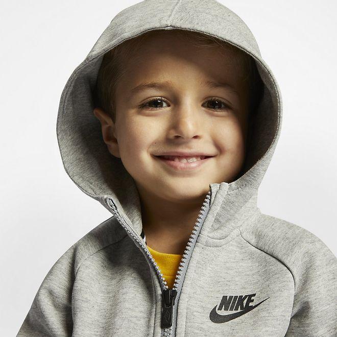 Afbeelding van Nike Sportswear Tech Fleece Little Kids Dark Grey Heather