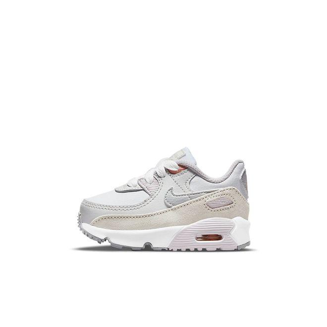Afbeelding van Nike Air Max 90 Kids White Metalic Platinum