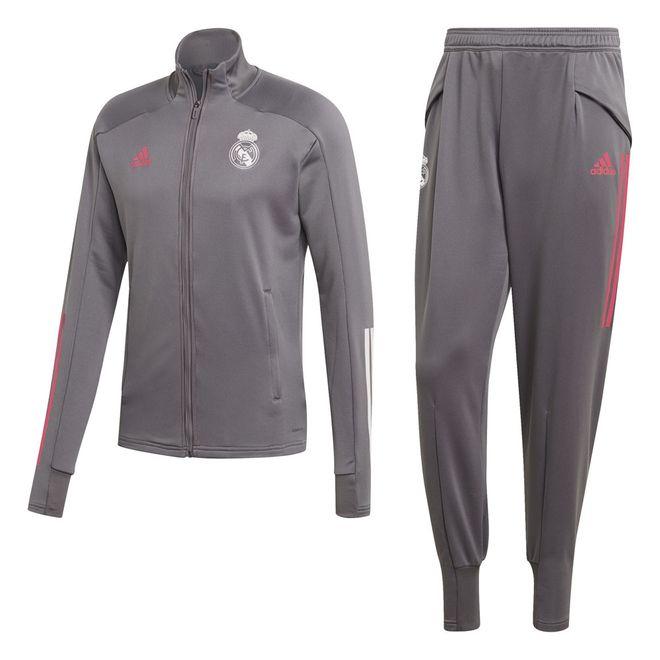 Afbeelding van Real Madrid Trainingspak Grey Five