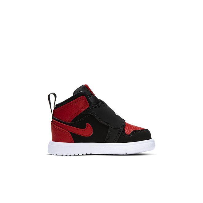 Afbeelding van Nike Sky Jordan 1 Infants Black Gym Red