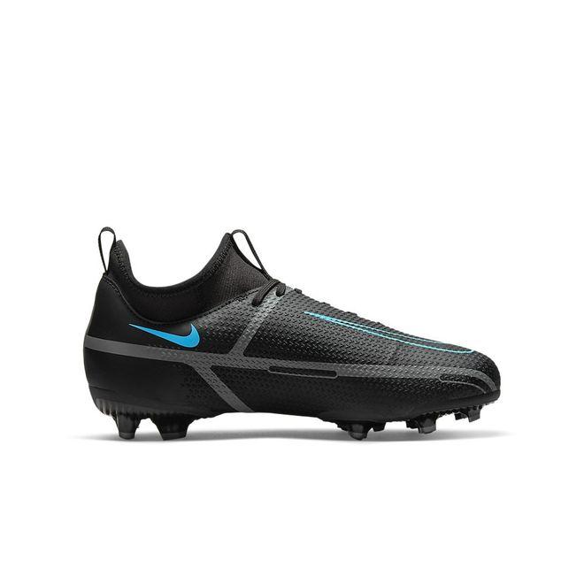 Afbeelding van Nike Phantom GT2 Academy DF FG Kids Black Iron Grey