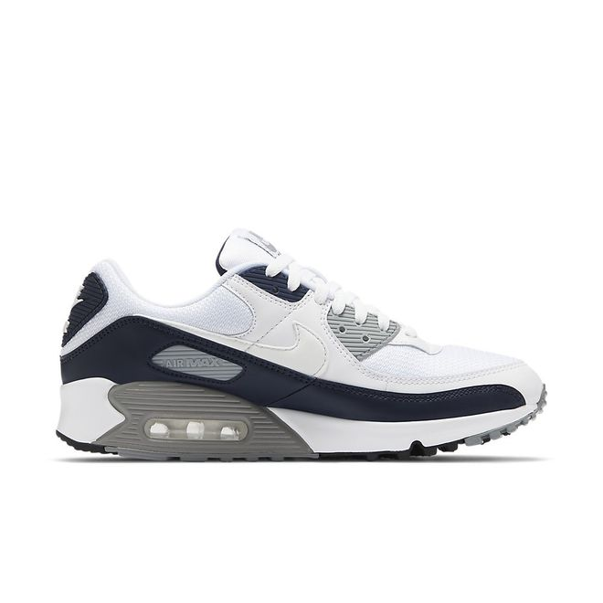 Afbeelding van Nike Air Max 90 White Particle Grey