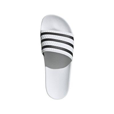 Foto van Adidas Adilette Slippers White-Black