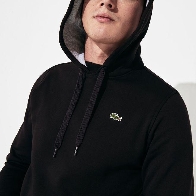 Afbeelding van Lacoste Hooded Sweater Black