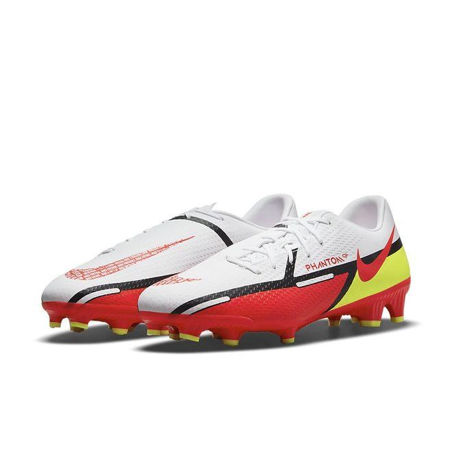 Afbeelding van Nike Phantom GT2 Academy MG White Bright Crimson