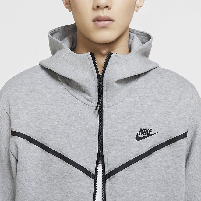 Afbeelding van Nike Sportswear Tech Fleece Hoodie Dark Grey Heather