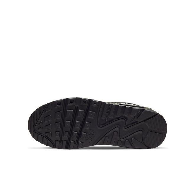 Afbeelding van Nike Air Max 90 Kids Leather Black White
