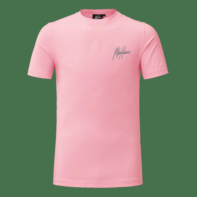Afbeelding van Malelions Shirt Francisco Pink Matt Grey