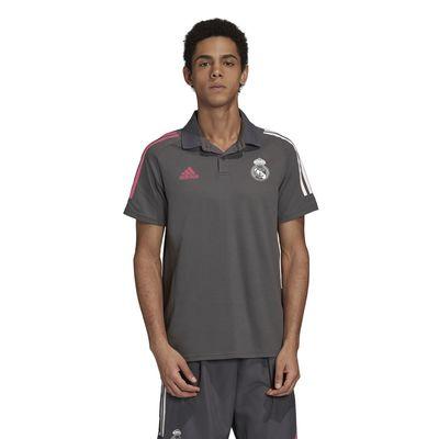 Foto van Real Madrid Polo Set Grey Five