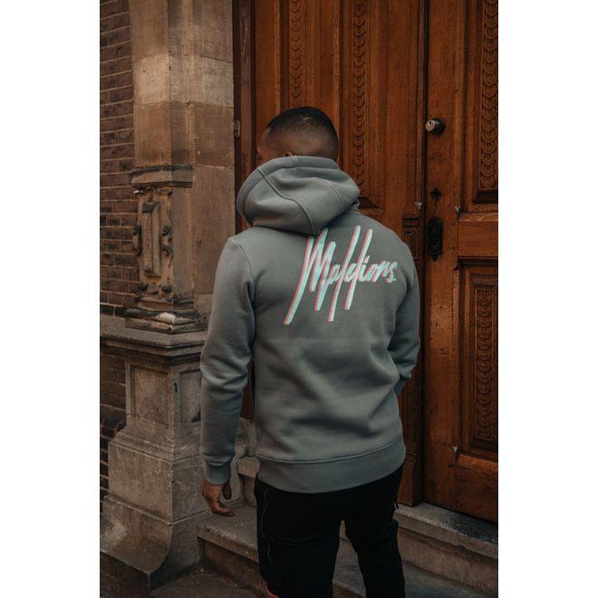 Afbeelding van Malelions Velcro Anorak Suit Matte Grey