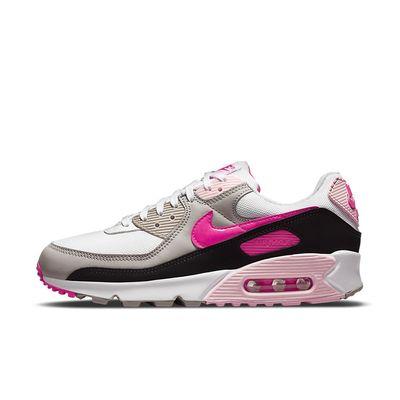 Foto van Nike Air Max 90 White Hyper Pink