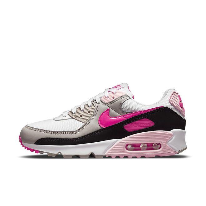 Afbeelding van Nike Air Max 90 White Hyper Pink