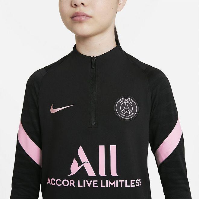 Afbeelding van Paris Saint-Germain Strike Set Kids Black Arctic Punch