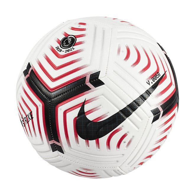 Afbeelding van Nike Premier League Strike Voetbal White Laser Crimson