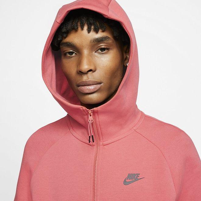 Afbeelding van Nike Sportswear Tech Fleece Hoodie Pueblo Red
