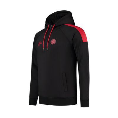Foto van Malelions Sport Striker Hoodie Set Black Neon Red