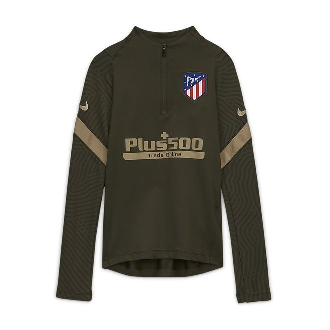 Afbeelding van Atlético de Madrid Dri-FIT Strike Drill Set Kids Cargo Khaki