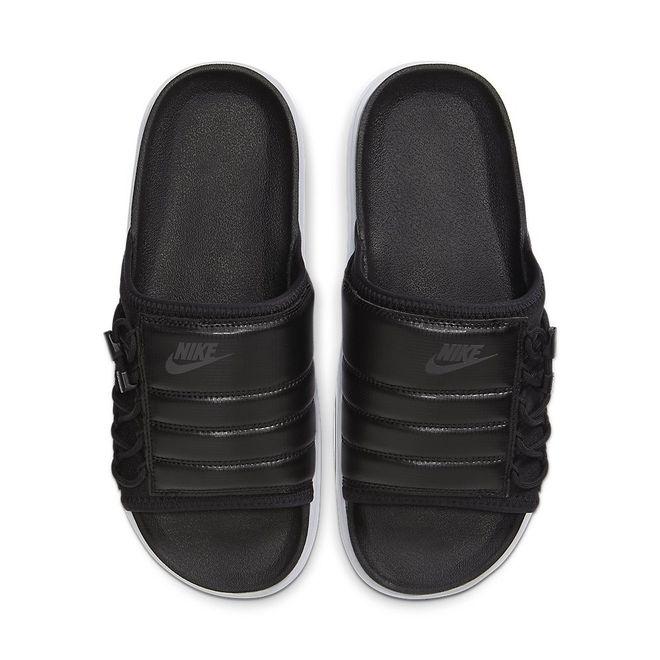 Afbeelding van Nike Asuna Slipper Black White