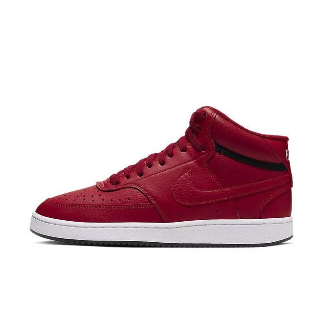 Afbeelding van Nike Court Vision Mid Gym Red